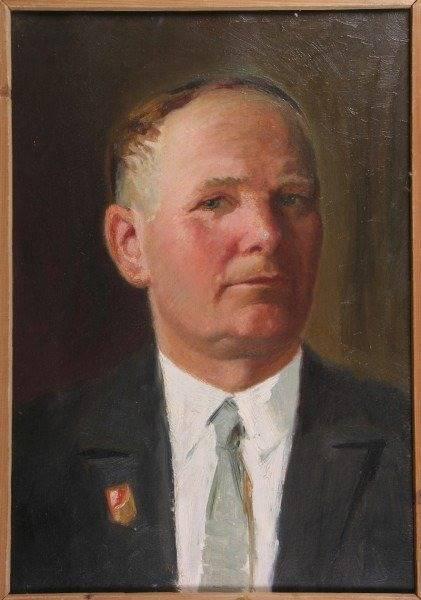Анатольев Н. А. Картина : Автопортрет. Х.М.