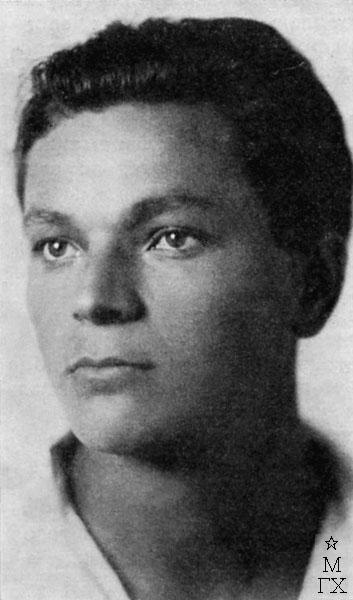 Федор Антонов в студенческие годы. 1927 г.