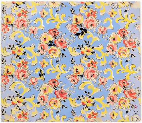 Е.М. Ануфриева. Картина : Образец ткани