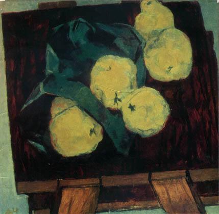 Д.Я. Черкес. Картина : Натюрморт с грушами.