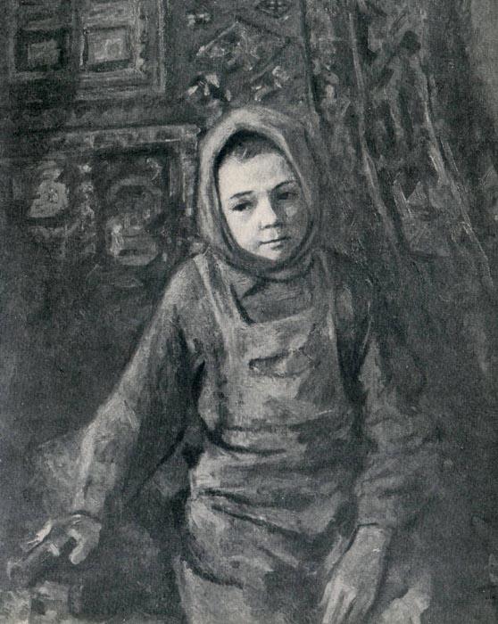 Д.Я. Черкес. Сашка. 1944.