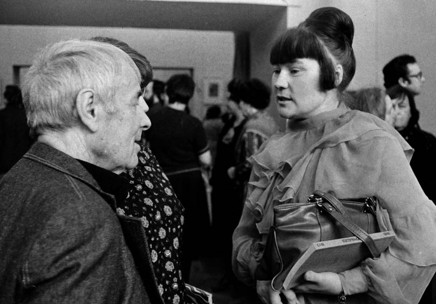 П. Чернышева и А. Тышлер. 1979 г.
