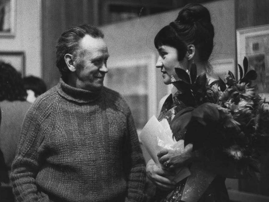 Е. Расторгуев и П. Чернышева 1979 г.