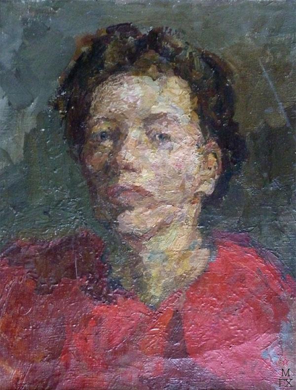 В.М. Диффинэ-Кристи. Картина : Автопортрет.