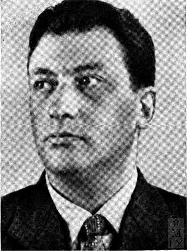 Чен-корреспондент АХ СССР, Д.А. Дубинский.