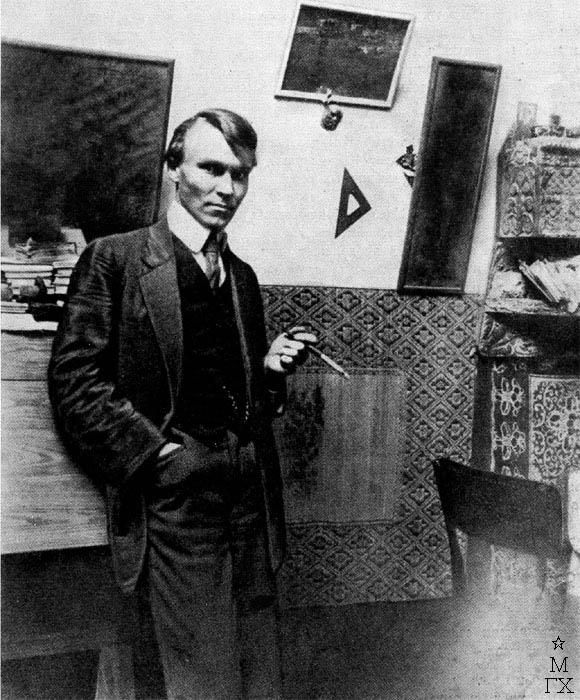 Н.И. Фешин. Фотография 1920-1923 гг.
