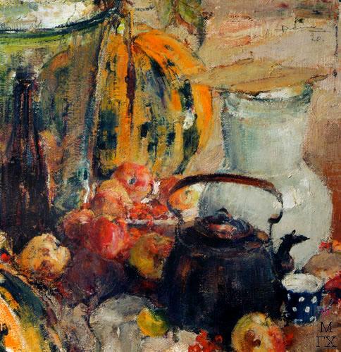 Н.И. Фешин. Картина : Натюрморт. 1920.