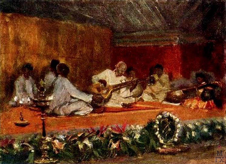 К.И. Финогенов. Концерт в Мадрасе