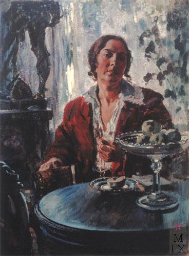 А.М. Герасимов. Портрет жены