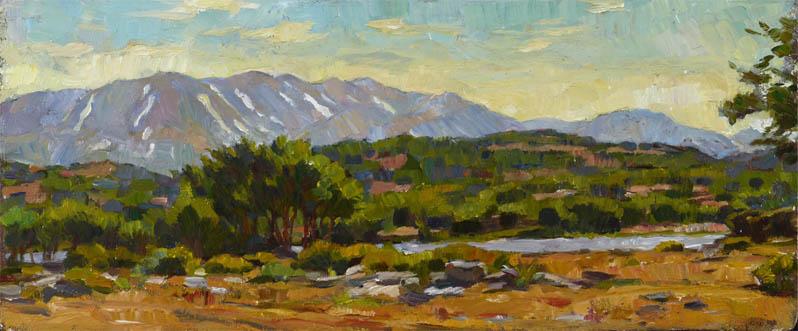 Н.А. Горский-Чернышёв . Картина : В горах на острове Крит. 2012 г.