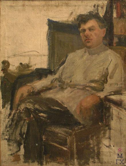 Д.С. Жилов. Мужской портрет.