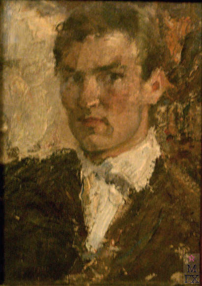 Д.С. Жилов. Автопортрет. 1920-е гг.