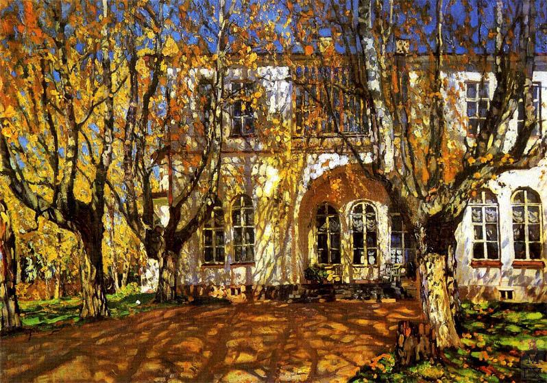 С.Ю. Жуковский. В старой аллее. 1913 г.
