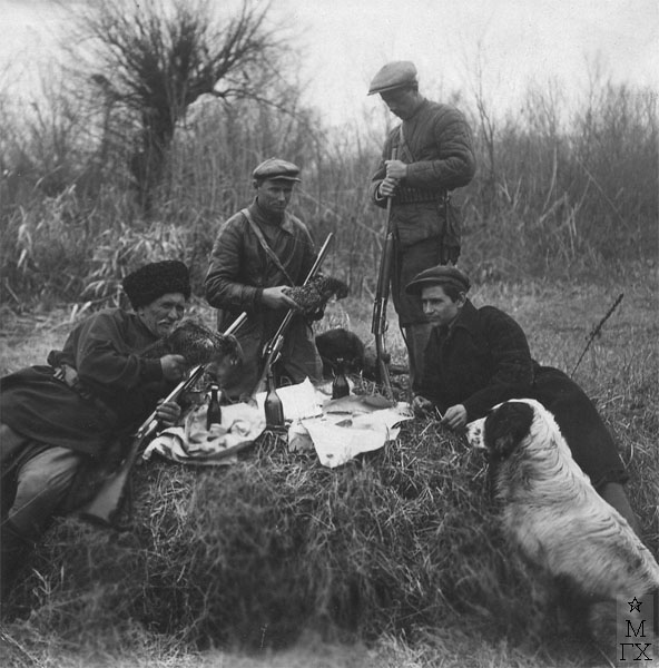 Н.П. Христенко на охоте