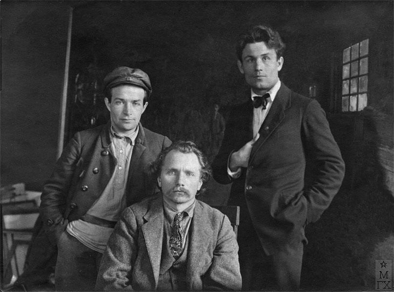 Д.К. Жилинский, П.А. Радимов, Н.П. Христенко, 1923 г.