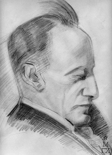 Портрет мужа - Валентина Яковлевича Парнаха