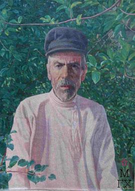 Иван Самсонович Климентов, алтуховский кузнец, отец художника.