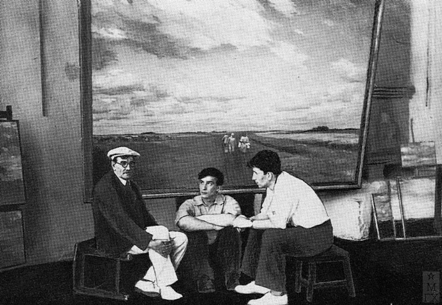 А.Н. Либеров. Ленинград, 1939 г.