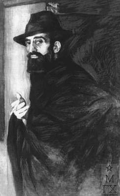 К.К. Магалашвили. Картина : Портрет скульптора Я. Н. Николадзе. 1922. Музей искусств Грузинской ССР.