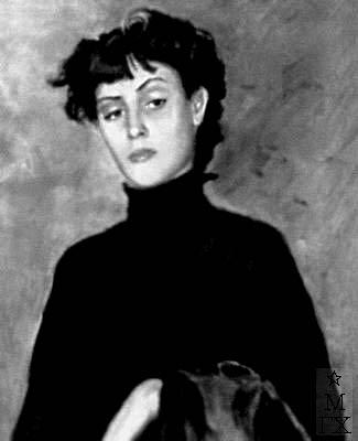 К.К. Магалашвили. Картина : Портрет М. Хидашели. 1958