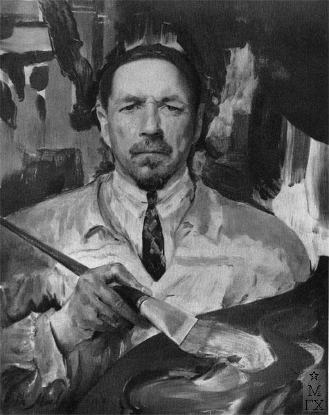 Ф.А. Малявин. Автопортрет. 1920-е гг.
