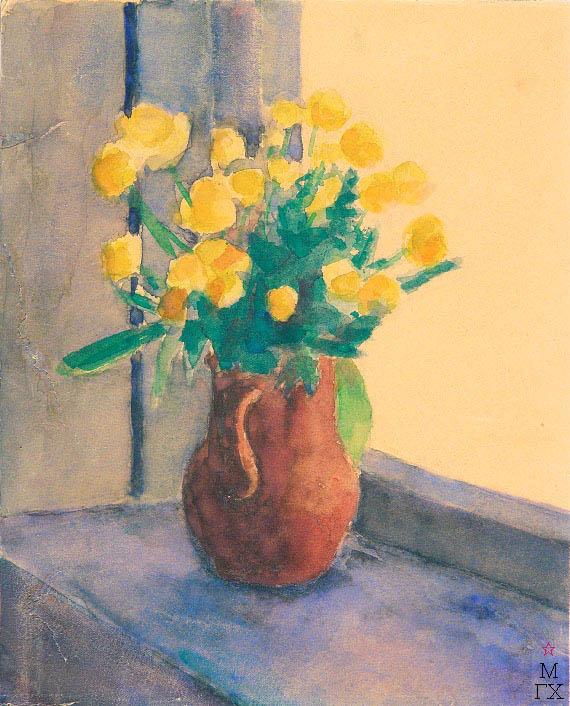Д.В. Мирлас. Картина : Желтый букет