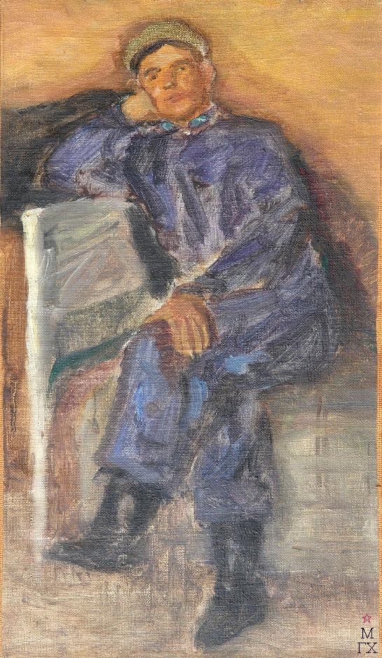 Д.В. Мирлас. Картина : Рабочий