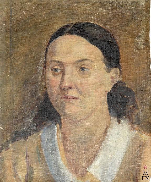 Д.В. Мирлас. Картина : Женский портрет