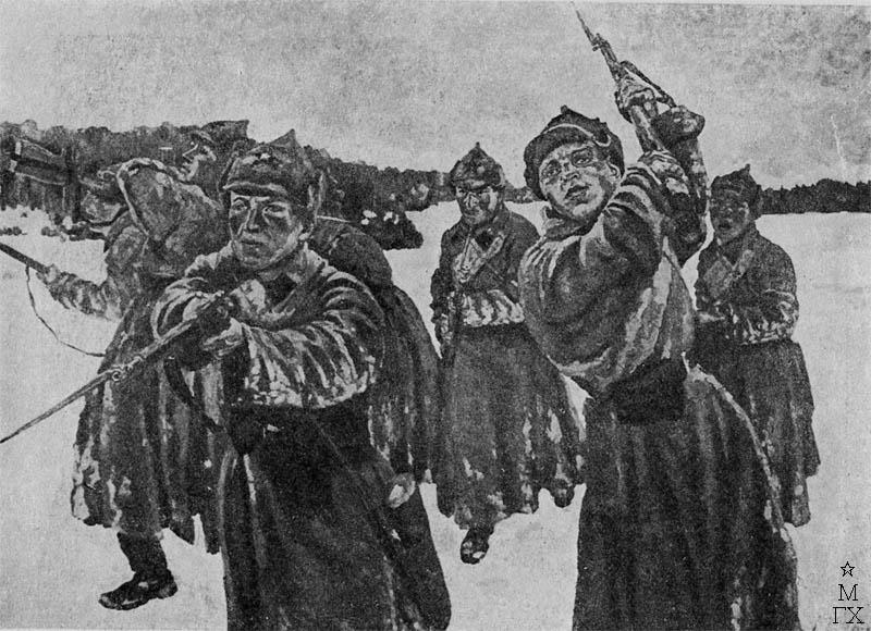 С.И. Петров. Отделение на обучении