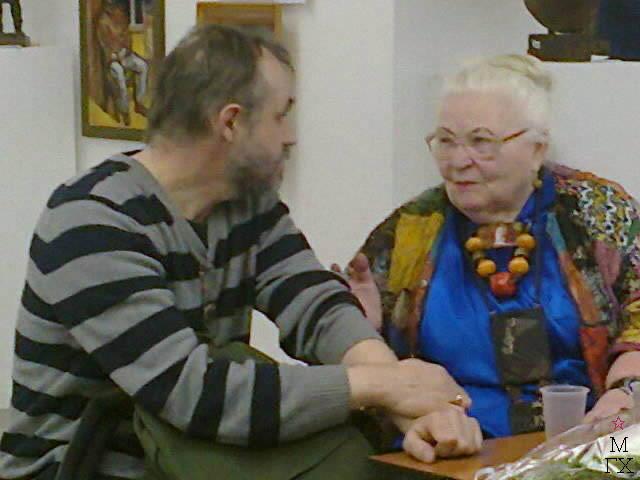 Ю. Попков и Н. Богородская.