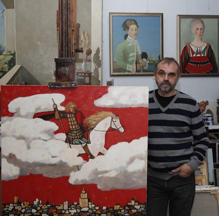 Юрий Попков и святой Георгий предупреждают.