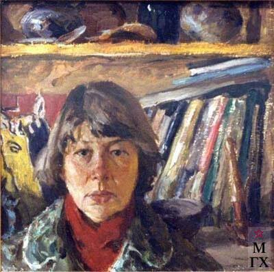 А.П. Суворова. картина : Автопортрет