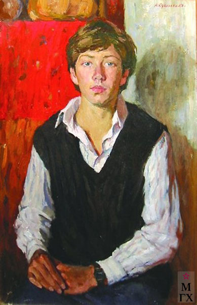 А.П. Суворова. картина : Антон