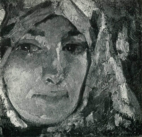 Л.З. Танклевский. Картина : Портрет жены. 1970.