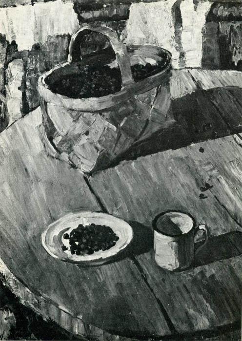 Танклевский. Картина : Черника. 1979