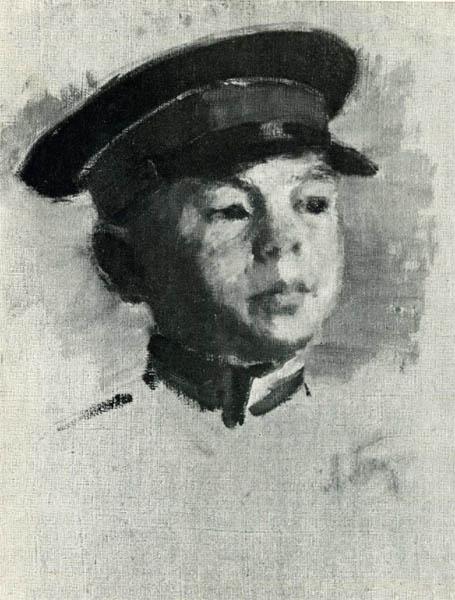 Л.З. Танклевский. Картина : Эскиз к картине