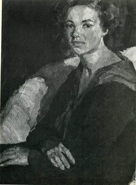 Танклевский. Картина : Таня. 1928