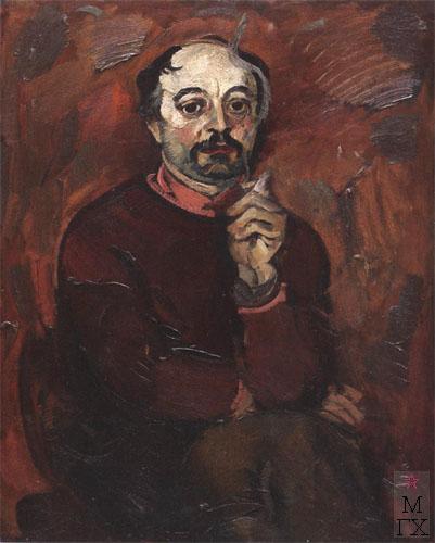Н.И.Терещенко. Картина : Портрет художника Сысолятина Г.А. 1976. К.М. 80х65