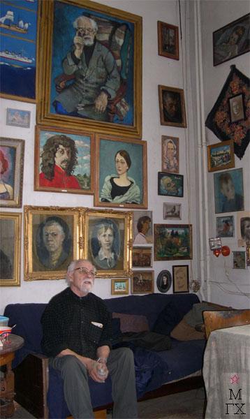 Николай Иванович Терещенко. Замысел новой картины. 2004 г.