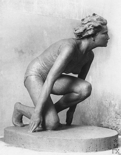 В.Ц. Валев. Скульптура : На старте
