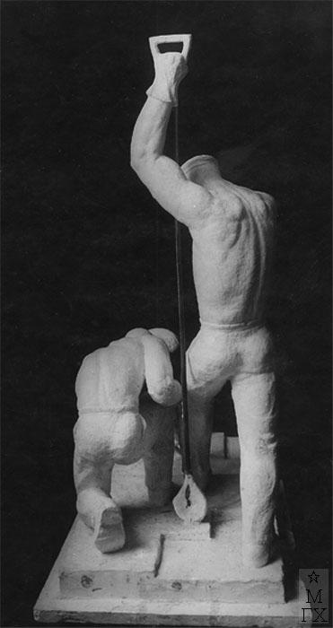 В.Ц. Валев. Скульптура : Прокатчики