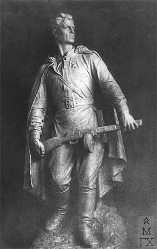В.Ц. Валев. Серия 'Монументы войны'