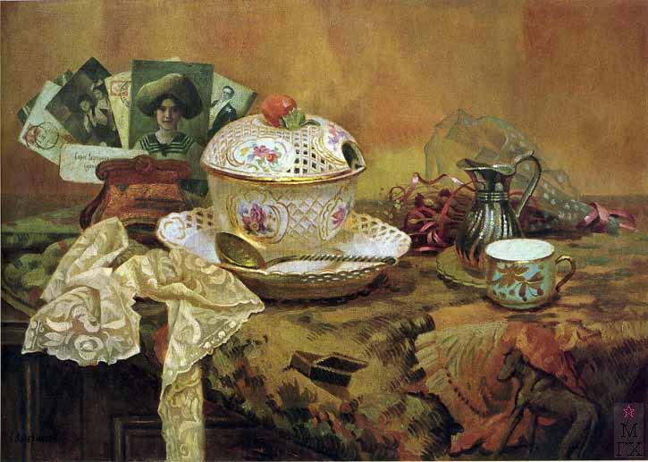 Б.А. Ведерников. Картина : Воспоминание. 2001