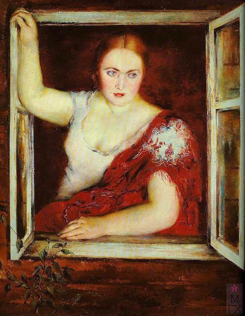 П.В. Вильямс. Картина : У окна. 1930