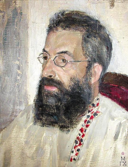 В.Э. Вильковиская. Портрет отца, Вильковиского Эммануила Яковлевича.