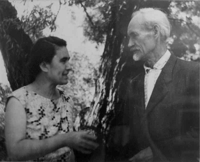 И.И. Якубени со своей супругой Якубени Лидией Адамовной.