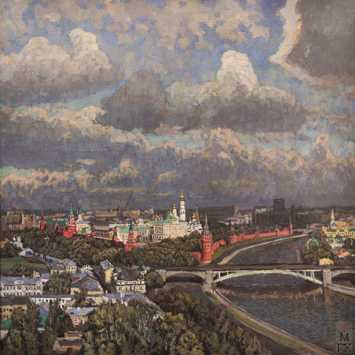 Е.Н. Зайцев. Картина : Кремль